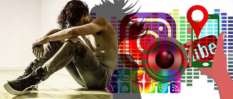 social media ansia e depressione