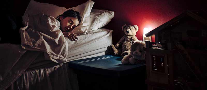 paura del buio fobia